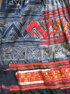 Miao-skirt-detail from Wangmo Co., Guizhou