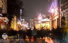 Kalėdų šurmulys mieste #Vilnius