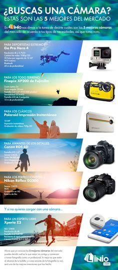 Porque hay una cámara para cada tipo de gustos estas son las 5 cámaras mas recomendables del mercado. Sus características varían según necesidades, la cámara
