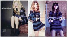 Avril Lavigne in Patrizia Pepe su Vanità Fair http://patriziape.pe/lightAVRIL #rockchic #attitude