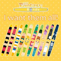 Decals for Disney MagicBands My Fantasy Bands
