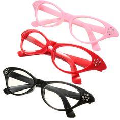 06aad43f17 Vintage Retro Women Eyeglasses Frame Fashion Cat Eye Clear Lens Eye Glasses  Hot in Clothing