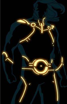 TRON SUPERHEROES – 19 SUPERBES ILLUSTRATIONS DE KRIS ANKA