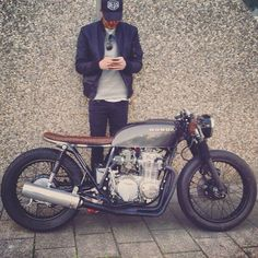 #honda cb550 four cafe racer