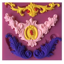 Orchid Silicone Fondant Chocolat Sugarcraft gâteau décoration moule de cuisson À faire soi-même