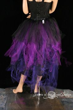 Purple lust bustle Trashy beautiful burlesque by SistersEnchanted