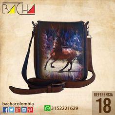 #Bolso Equino 18 #CUERO Con acolchado interno Grande 26x23x7cm Mediano 22x19x7cm