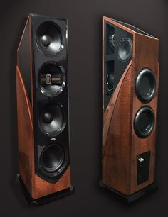 Legacy Audio is a US company that builds amps, loudspeakers and various digital equipment for hi-fi and HT applications. Pro Audio Speakers, Audiophile Speakers, Hifi Audio, Bluetooth Speakers, Audio Design, Sound Design, Equipment For Sale, Audio Equipment, Speaker Box Design