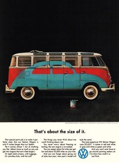 chrisgaffey:  In 1959 Volkswagen appointed Doyle Dane Bernbach, the New York ad agency, to handle their account in the United States. The work they produced changed the face of advertising, not just in America but across the world.