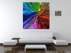 large unique painting pride03 acryl on canvas