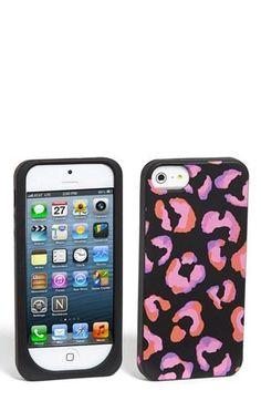 kate spade new york 'disco animal' iPhone 5 case | Nordstrom