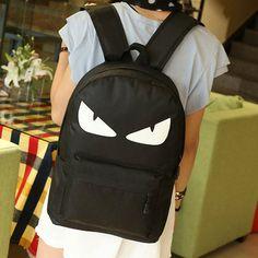 Стильный рюкзак с глазками