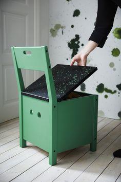 SÄLLSKAP stoel met opberger | #IKEAcatalogus #nieuw #2017 #IKEA #IKEAnl #stoel…