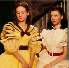 Gone with the wind Scarlett and sister
