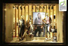 Mango windows 2013 Autumn, Munich - Retail Design Blog» visual merchandising