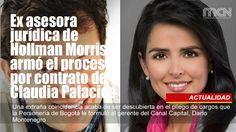 Ex asesora jurídica de #HollmanMorris armó el proceso por contrato de #ClaudiaPalacios