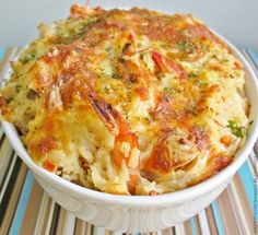 Seafood Baked Rice, an apparent one-dish wonder.