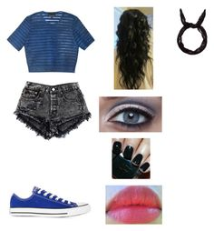 Untitled #83 by lilldreamerrr on Polyvore featuring polyvore, fashion, style, Cynthia Rowley, Converse and Revlon