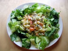 Do you like Asian salad recipe? then try the Thai Cucumber Salad Revised Recipe. It is healthy yet tasty. Russian Salad Recipe, Russian Potato Salad, Russian Recipes, Shireen Anwar Recipes, Thai Cucumber Salad, Salad Recipes, Healthy Recipes, Easy Recipes, Proper Diet
