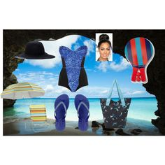 """for beach"" by megi-star on Polyvore"