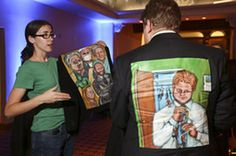 Activist Ignites A Movement For Patients Through Art And Story - Kaiser Health News
