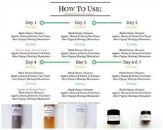 What day are you on this week? Make sure you are following a daily regimen to…