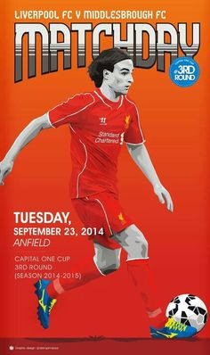 Capital One Cup, Liverpool vs Middelsbrough