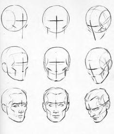 Anatomy Drawing Tutorial anatomical drawings of heads Human Figure Drawing, Figure Drawing Reference, Anatomy Reference, Pose Reference, Anatomy Sketches, Anatomy Art, Art Sketches, Facial Anatomy, Head Anatomy