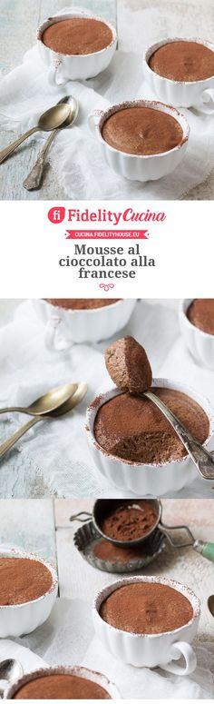 Mousse al cioccolato alla francese