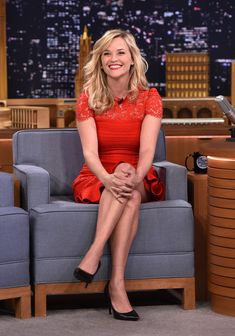 Reese Witherspoon Photos: Reese Witherspoon Visits 'The Tonight Show'