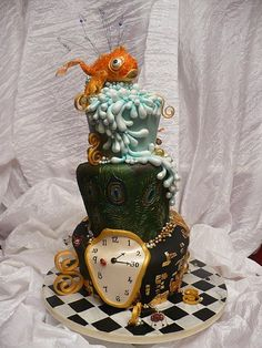 alice in wonderland wouldve been a great sweet 16 cake for my oldest