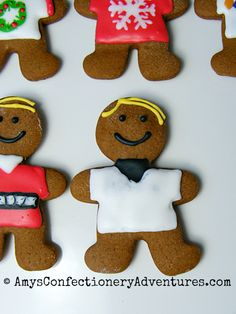 Amy's Confectionery Adventures: Ugly Sweater Gingerbread Men