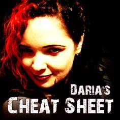 #CodeBassRadio ON AIR: Daria's Cheat Sheet by @cfGothChic - 5/7/2012 Replay - Listen: http://cbrtune.in  - Follow @DariaCheats