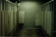 white tile; repetitiveness; claustrophobia