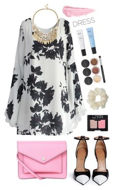 """""""A Bit of Pink"""" by angiegdurant on Polyvore featuring Chicwish, Givenchy, Marc by Marc Jacobs, Boots No7, Sole Society, Bare Escentuals, Miss Selfridge, NARS Cosmetics, By Terry and Pink"""