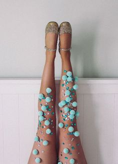 Discover thousands of images about Lovely Legs Diy Fashion, Ideias Fashion, Womens Fashion, Fashion Design, Mermaid Tights, Sheer Tights, Creation Couture, Lovely Legs, Festival Outfits