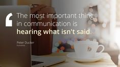 Free PowerPoint Quotes - Communication - The skill of communication is important in personal life as much as it is in professional life. Successful communication facilitates working relationships and Popular Quotes, Quotes By Famous People, Career Goals, Motivation, Business Quotes, Social Media Marketing, Leadership, Communication, Presentation