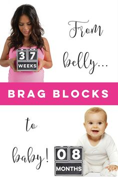 Such a cute way to document days, weeks, months and years! I love that I can use for maternity through school age! Baby Shower Gifts, Baby Gifts, O 8, Big Kids, Photo Props, Maternity, Yearly, My Love, Children