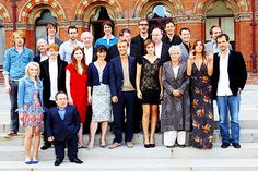 The Harry Potter Cast: we will always see them in their robes even when they're not wearing it.