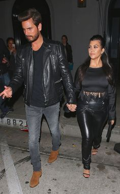 Scott Disick & Kourtney Kardashian from The Big Picture: Today's Hot Pics | E! Online