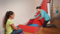 Slide Rider - Attach Slide to stairs - Turn Stairs Into Slide