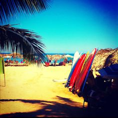 Sayulita, Mexico. Great spot to learn to surf!