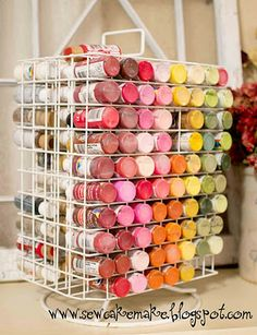The Sew*er, The Caker, The CopyCat Maker: ToolBox Tuesday: Paint Storage