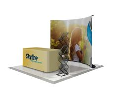 Banner Stand Back Wall Display Concept