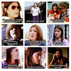 Debra Morgan! the best part of that show!!