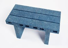 WooJai Lee explores ways to recycle paper in more sustainable ways and developed a process of turning recycled newspapers into functional furniture. Paper Furniture, Recycled Furniture, Design Furniture, Furniture Making, Blue Coffee Tables, Recycle Newspaper, Branding, Coffee Table Design, Recycled Crafts