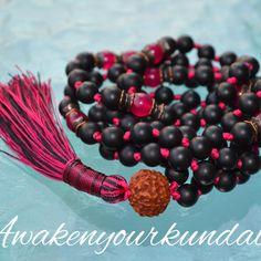Matte finished Onyx, now at awakenyourkundalini. Cat's eye malas..... # mala # beads # necklace #yoga # yogi # yogini # namaste # healing #gemstones # holistic #yoga jewelry # knotted mala necklace # manifestation # detox # abundance # handmade malas #beaded necklace # gemstone malas # made in USA # minimalist # zodiac mala # zodiac gemstones # boho #boho style # bohomein # awaken your kundalini # etsy # hippy # hippie # men's fashion # women's fashion # yoga girls # meditation #…