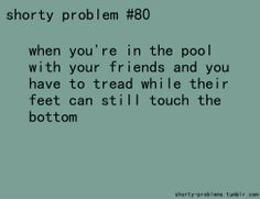 At that I'm just like, y'all can swim by yourselves! ... I'll be in the Kittie Pool.