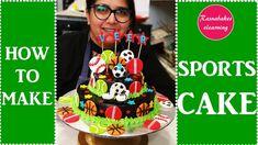 New birthday cake for men football sport theme 39 ideas Birthday Cake For Husband, New Birthday Cake, Birthday Cakes For Men, Cakes For Boys, Birthday Bash, Birthday Ideas, Happy Birthday, Cake Decorating Classes, Easy Cake Decorating