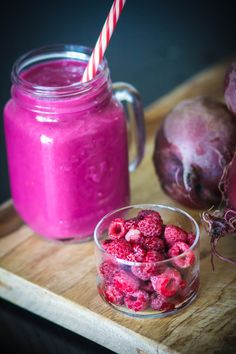 Raspberry-Beet Smoothie